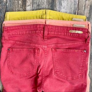 Anthropology Pilcro & The Letterpress Jeans Sz 25